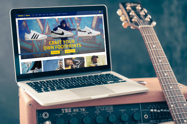 Tekkie Town - Shopify Website Build, ERP & Warehouse